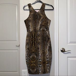 Romeo & Juliet Couture Leopard Body-con Dress